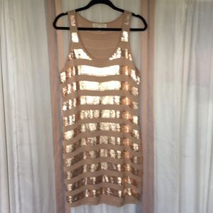 Michael Kors sequined party shift